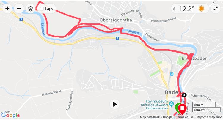 Limmatlauf Baden 2019