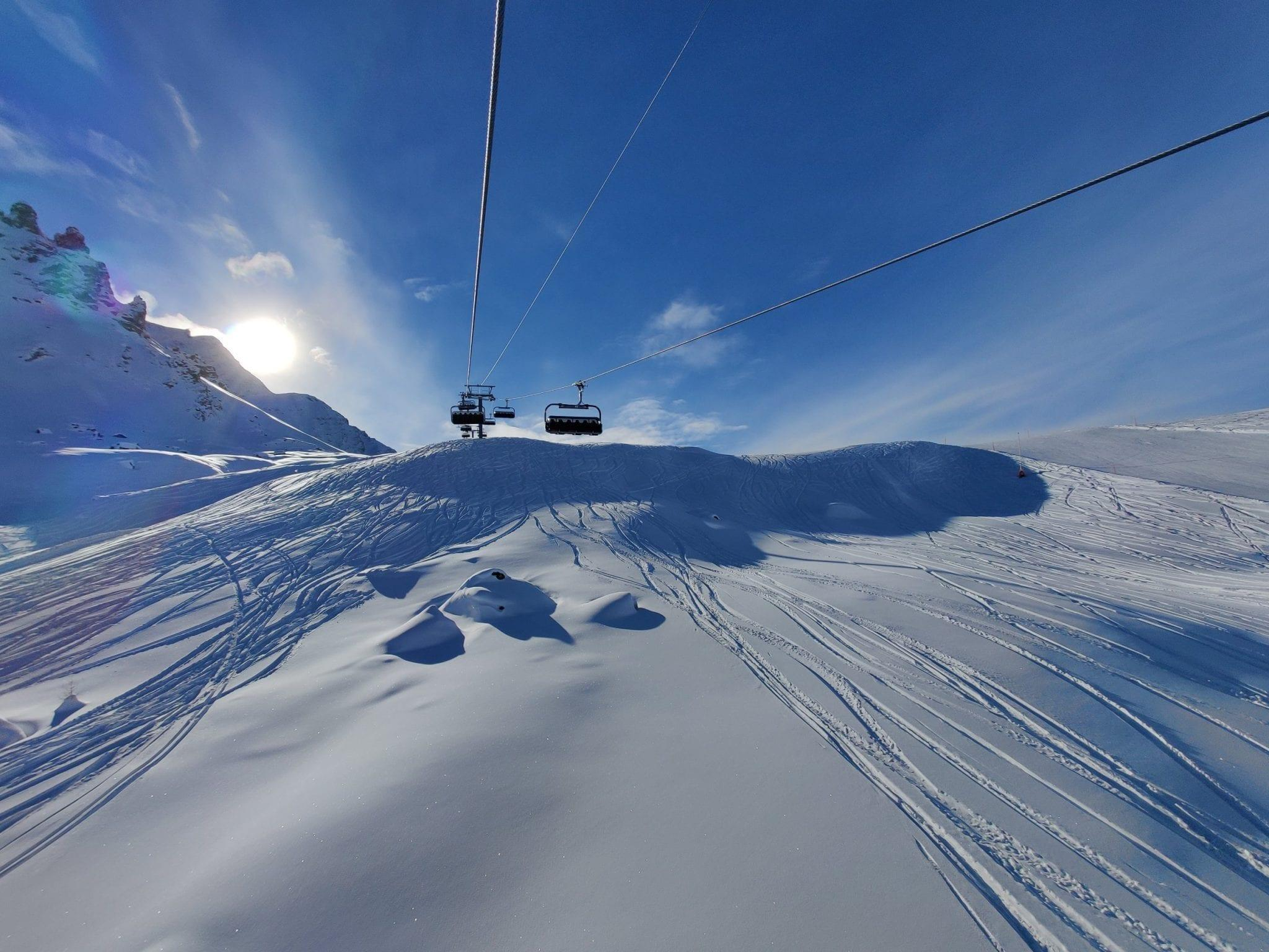 Snowboarding im Engadin